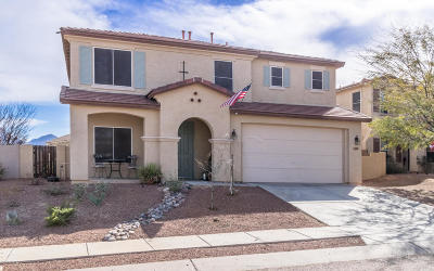 Tucson Single Family Home For Sale: 3584 E Silver Buckle Place