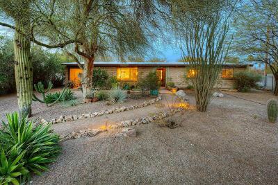 Tucson Single Family Home Active Contingent: 2825 E Pompeii Circle E