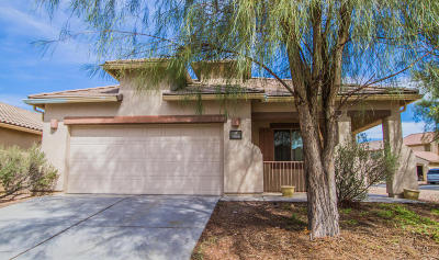 Tucson Single Family Home Active Contingent: 7496 W Phobos Drive