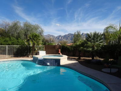 Oro Valley Single Family Home Active Contingent: 12332 N Echo Valley Drive