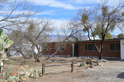 Tucson Single Family Home For Sale: 8521 E Wrightstown Road