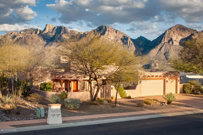 Oro Valley Single Family Home For Sale: 11022 N Pusch Ridge Vistas Drive