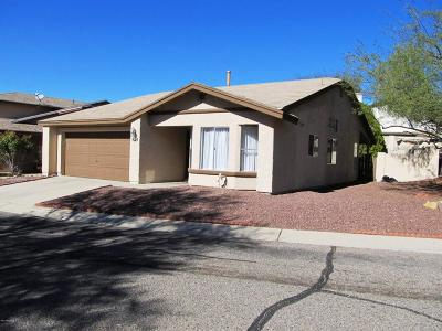Tucson Single Family Home For Sale: 4724 W Sleepydale Court