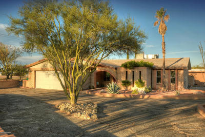 Pima County, Pinal County Single Family Home For Sale: 4801 N Bear Canyon Road