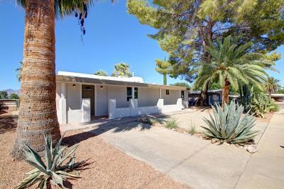 Tucson Single Family Home Active Contingent: 8731 E Burning Tree Drive