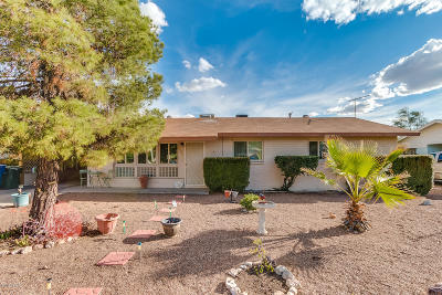 Tucson Single Family Home Active Contingent: 6322 E Eli Drive