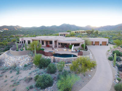 Tucson Single Family Home For Sale: 1567 N Saguaro Cliffs Court