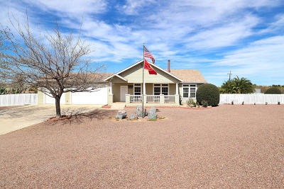 Tucson Single Family Home For Sale: 3771 E White Hill Way
