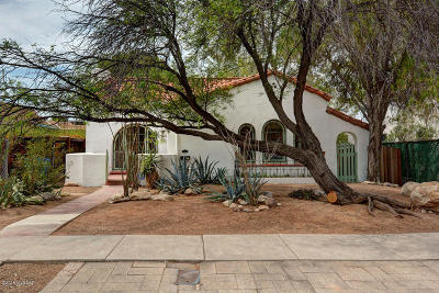 Tucson Single Family Home For Sale: 2422 E 1st Street