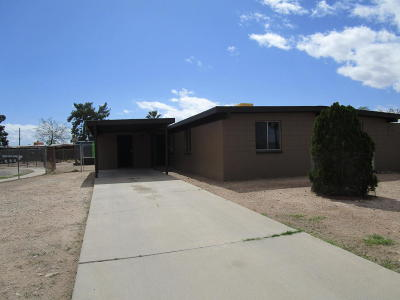 Pima County Single Family Home For Sale: 4858 S Calle Miura