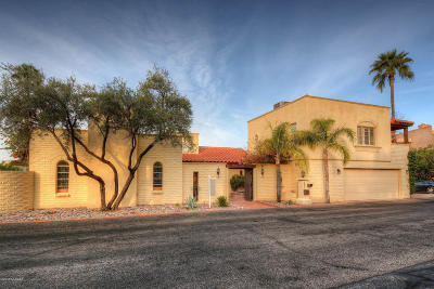 Tucson Single Family Home For Sale: 6471 N Val Dosta Drive