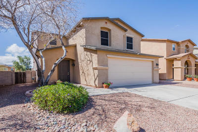 Pima County Single Family Home Active Contingent: 6906 S Goshawk Drive