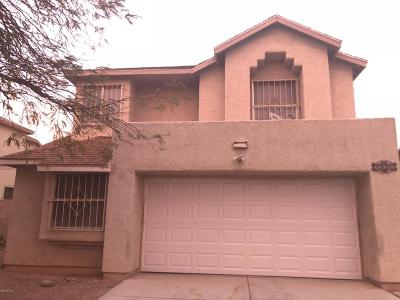 Tucson AZ Single Family Home For Sale: $163,500