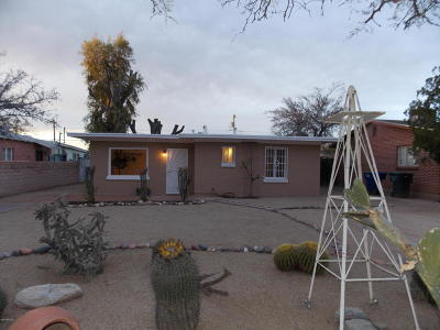 Tucson AZ Single Family Home For Sale: $159,000