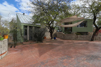 Tucson Single Family Home For Sale: 646 W Las Lomitas Road