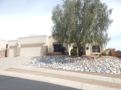 Oro Valley Single Family Home Active Contingent: 11696 N Teskow Drive