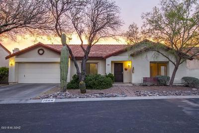 Tucson Single Family Home Active Contingent: 7666 E Dayview Circle