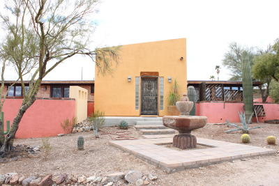 Tucson Single Family Home For Sale: 4990 N Camino De Oeste