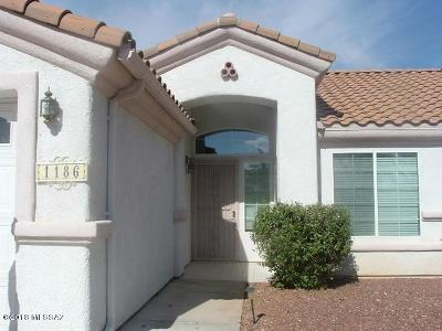 Single Family Home For Sale: 1186 Desert Dawn Drive
