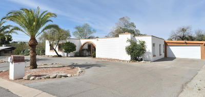 Tucson Single Family Home For Sale: 3401 N Camino De Piedras