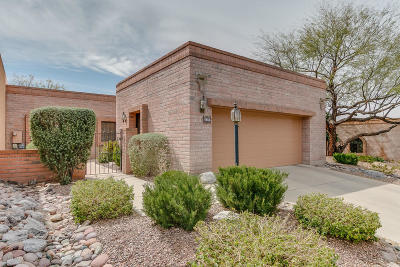 Tucson Single Family Home For Sale: 6854 E Via Vigna