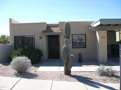 Tucson, Oro Valley, Marana, Sahuarita, Vail Townhouse For Sale: 7860 E Baker Street