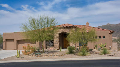 Marana Single Family Home For Sale: 5908 W Sonoran Links Lane