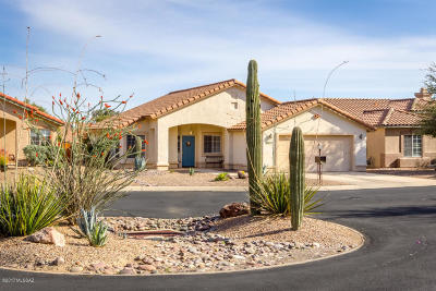 Tucson AZ Single Family Home Active Contingent: $267,000