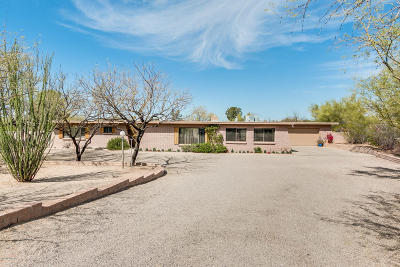 Tucson Single Family Home Active Contingent: 7642 N Chapala Place