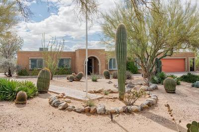 Tucson Single Family Home Active Contingent: 2419 W Donatello Way