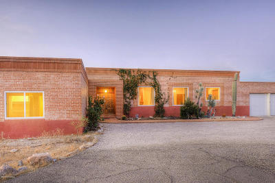 Tucson Single Family Home For Sale: 6131 N Piedra Seca