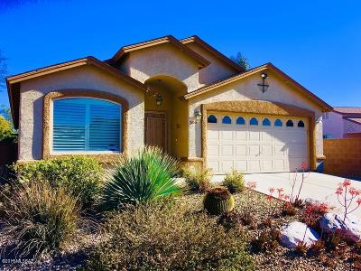 Tucson Single Family Home For Sale: 7661 S Athel Tree Drive