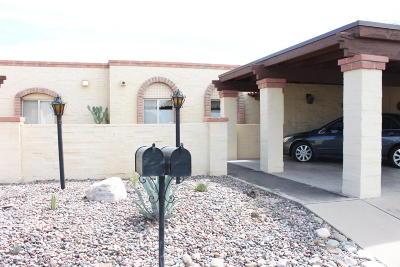 Tucson AZ Townhouse For Sale: $150,000