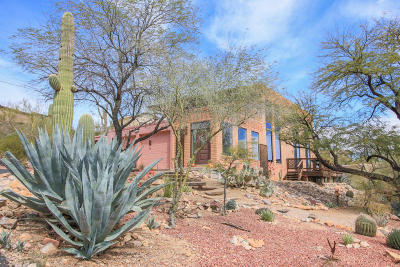 Tucson Single Family Home Active Contingent: 3026 W Calle De Dalias