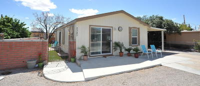 Pima County Manufactured Home For Sale: 5349 W Rocking Circle