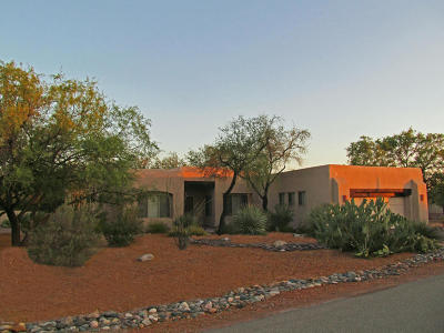 Oro Valley Single Family Home For Sale: 1313 W Saddlehorn Drive