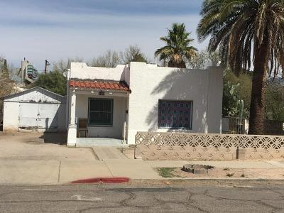 Tucson Single Family Home For Sale: 1509 E 9th Street