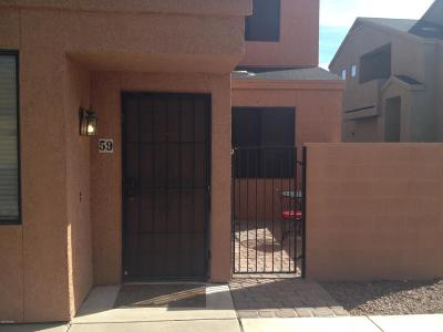 Tucson Condo For Sale: 1265 E Weimer Circle #59