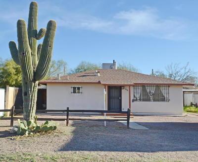 Tucson AZ Single Family Home For Sale: $125,000