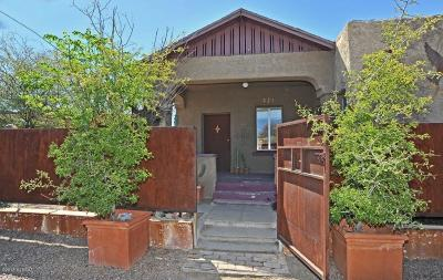 Tucson Single Family Home For Sale: 231 W University Boulevard