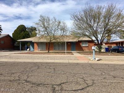 Tucson Single Family Home For Sale: 6651 E Julia Street
