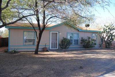 Pima County Manufactured Home For Sale: 2672 E Spring Street