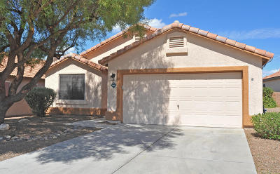 Tucson Single Family Home For Sale: 3652 W Camino De Caliope