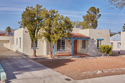 Tucson Single Family Home For Sale: 3115 E Lester Street