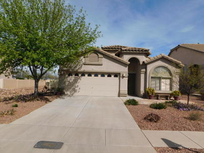 Sahuarita Single Family Home For Sale: 517 E Camino Del Abeto