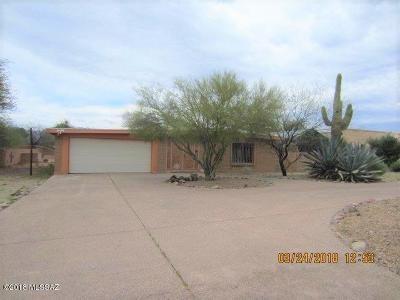 Tucson Single Family Home For Sale: 2942 W Avenida Cresta