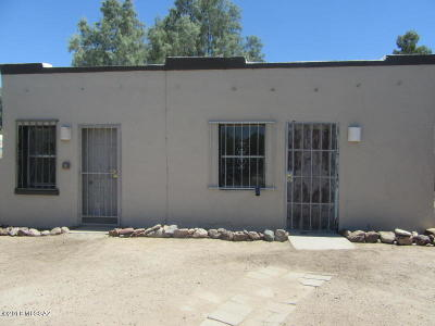 Tucson AZ Single Family Home For Sale: $70,000