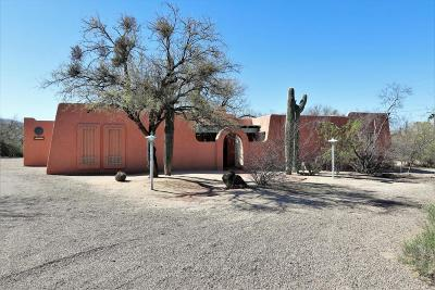 Tucson Single Family Home For Sale: 12100 E Tanque Verde Road