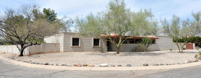 Tucson Single Family Home Active Contingent: 3335 N Camino De Piedras