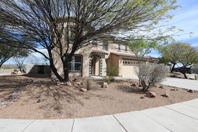 Pima County Single Family Home Active Contingent: 8190 W Spotted Eagle Court